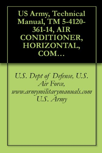 US Army, Technical Manual, TM 5-4120-361-14, AIR CONDITIONER, HORIZONTAL, COMPACT; 36 BTUH, 208 V, 3 PHASE, 400 HZ, (AMERICAN AIR FILTER CO., MODEL CH, ... CH63, (4120-01-063-7575), military manuals