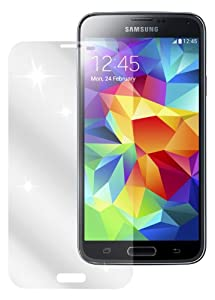 dipos Samsung Galaxy S5 Schutzfolie (6 Stück) - kristallklare Premium Folie Crystalclear