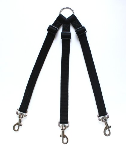 adjustable-triple-three-3-dog-coupler-black-suitable-for-walking-3-small-dogs-on-one-lead