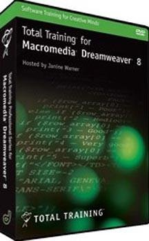 Total Training for Macromedia Dreamweaver 8 DVD-Rom (Win/Mac)