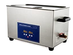 JeKen 22L Large Capacity Digital Ultrasonic Cleaner PS-80A with Timer & Heater Without Basket 110V