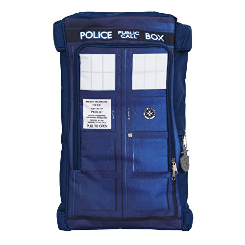 Doctor Who Tardis Blue Backpack