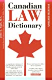 Canadian Law Dictionary (0764106163) by John A. Yogis