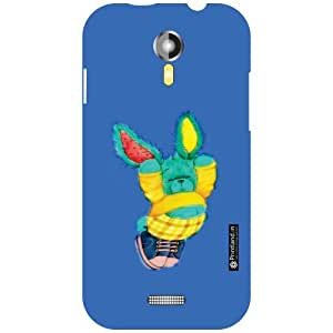 Design Worlds Micromax A117 Canvas Magnus Back Cover - Blued Designer Case and Covers