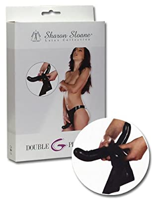 Sharon Sloane Medium Latex Double Dildo Briefs