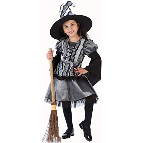 Toddler Gothic Rose Witch Costume (Size:3-4T)