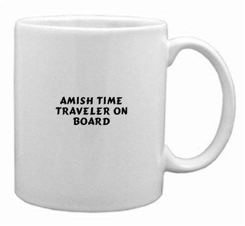 AMISH TIME TRAVELER ON BOARD Mug