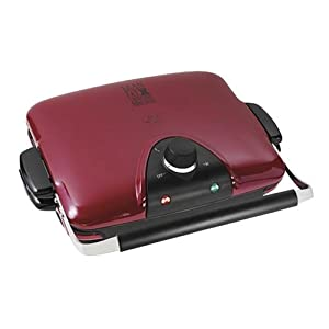George Foreman GRP90WGR Next Grilleration Electric Nonstick Grill with 5 Removable Plates at Amazon.com