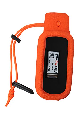 Cheapest Prices! Orange Gizzmo Vest for Garmin Alpha 100 Handheld - Made in the USA