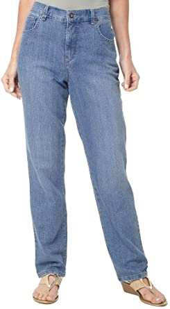 Gloria Vanderbilt Amanda Stretch Jeans CHELSEA LIGHT DENIM 6