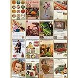 オシャレ 外国の レトロ 看板風 ポストカード 32枚セット カフェなどの 装飾にも