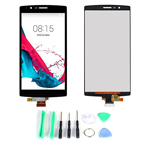 Screen Replacement Part (LCD Display Touch Digitizer Assembly) for LG G4 H8 [Wireless Phone Accessory]