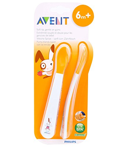 AVENT Weaning Spoon With Soft Tip - 1