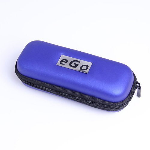 Case for Electronic E Cigarette HOLDER, Personal Travel Carry Case- LIGHT BLUE (FREE CAR sticky pad for Phone PDA MP3 MP4) (GD-1300-1) (Blue Cigs Electronic Cigarette compare prices)
