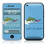Bass Fishing Design Protector Skin Decal Sticker for Apple 3G iPhone / iPhone 3GS 3G S