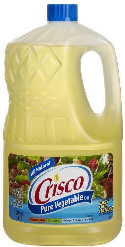 Crisco Pure all Natural Vegetable Oil - 128 oz