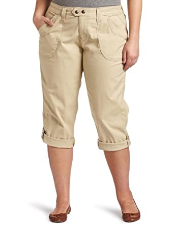 Levi's Women's Tide Pool Capri, Safari, 20 Medium
