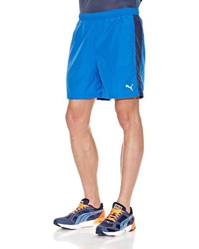 """Puma Short Pe Running 7"""" Baggy Azul"""