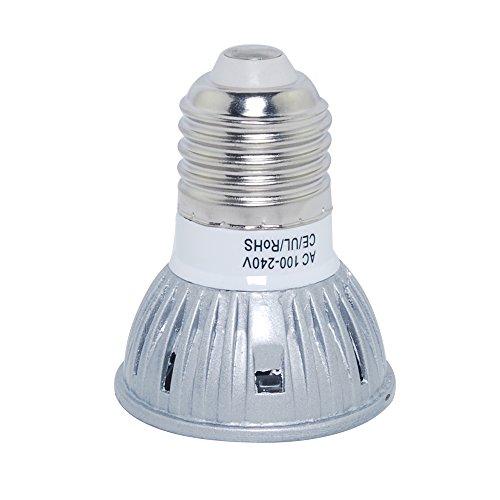 Thg 4Pcs E27 Warm White 100-240V Led Energy Saving 3W Ce Rohs Bulb Lamps Spot Lights Lighting For Display Artwork Landscape Scene Spot Lighting