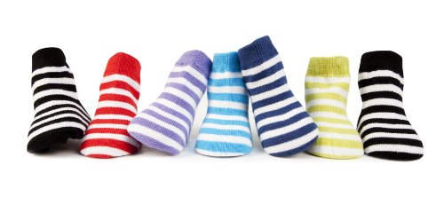 Trumpette Week of Stripes Baby Socks - Box of 7