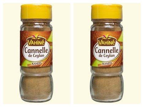 Vahiné - Vanille & Arômes - Cannelle de Ceylan en poudre - lot de 2