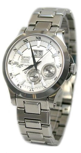 Seiko Men's Watches Premier Kinetic Perpetual SNP001P1 - 2