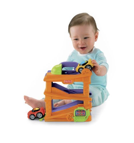 Fisher-Price Lil' Zoomers Chase 'n Race Ramps