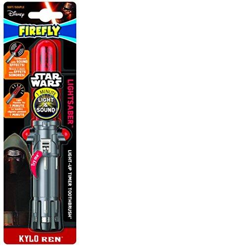 Firefly Star Wars Kylo Ren Light Saber Soft Toothbrush