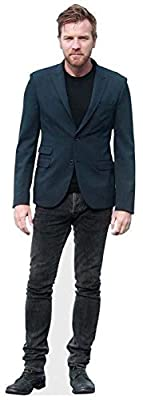 Ewan McGregor Cardboard Cutout (life size and mini size). Standee. Stand Up.