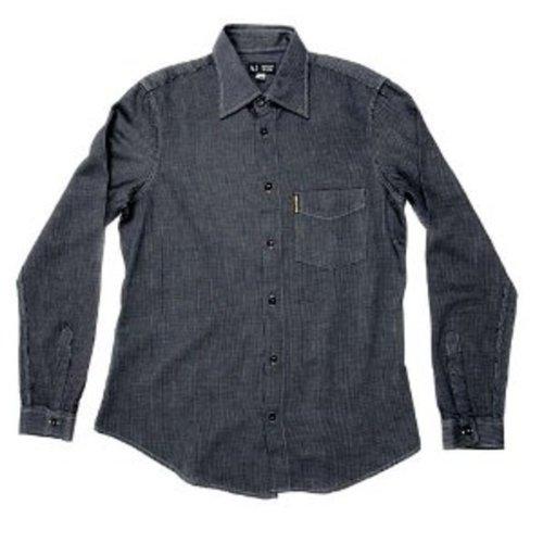 Armani Jeans -  Camicia Casual  - Maniche lunghe  - Uomo blu navy medium