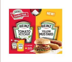 Heinz Combo Refill Pack Ketchup 10 Oz And Mustard 9 Oz front-956261