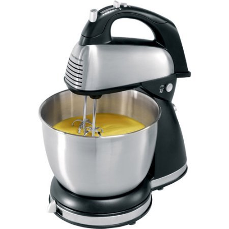 Hamilton Beach 64650 4-7 Motor Speed Classic Hand/Stand Mixer,Black Color (Hand Mixer Color compare prices)