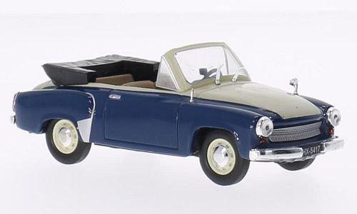 Wartburg-311-2-Cabrio-dunkelblaubeige-1958-Modellauto-Fertigmodell-SpecialC-78-143