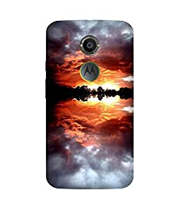 Upside Down Motorola Moto X2 Case