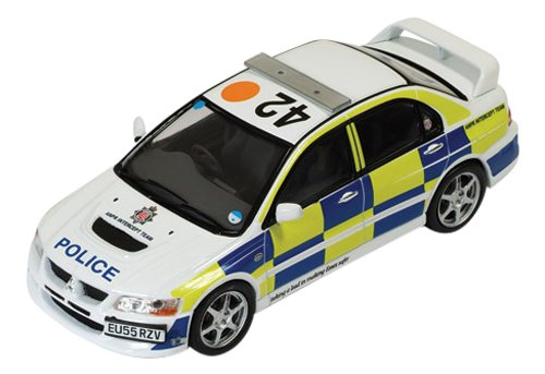 ixo-143-scale-mitsibishi-lancer-evo-viii-iuk-police-model-car