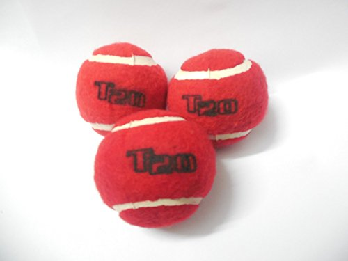 Davidson Genuine Qualityt T20 Or tennis Ball (Pack of 3)Leather Orange:Red  available at amazon for Rs.115