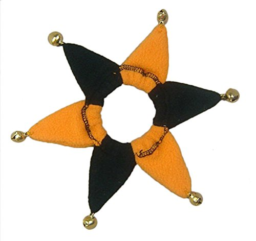 Freerun Pet Cute Yellow & Black Halloween Patry Collar for Small Size Dogs & Cats - L (Pet Taxi Replacement Parts compare prices)