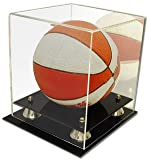 BCW Deluxe Acrylic Mini Basketball Display - With Mirror - Sports Memoriablia Display Case - Desktop Version