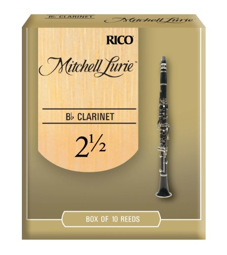 Mitchell Lurie Bb Clarinet Reeds, Strength 2.5,