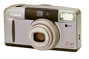 Canon Sure Shot Z115 Panorama Caption Zoom Date 35mm Camera