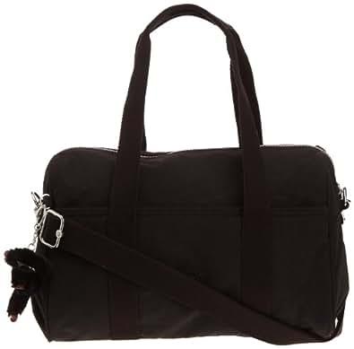 Kipling Women's PRACTI-COOL Shoulder Bag  Black Schwarz (Black) Size: 39x21x18 cm (B x H x T)