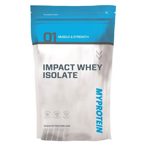 Myprotein Impact Whey Isolate, Chocolate Smooth, Pouch, Size: 1Kg