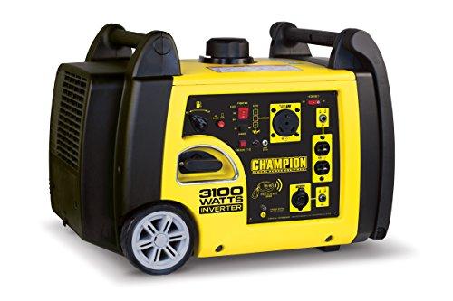 Champion Power Equipment 75537i 3100 Watt RV Ready Portable Inverter Generator with Wireless Remote Start (Champion Generator Dual Fuel compare prices)