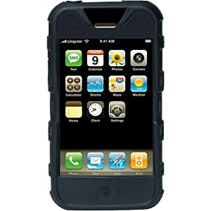 Speck IPH-BLK-TS ToughSkin iPhone Case (Black)