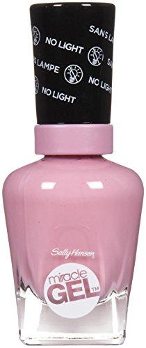 Sally Hansen Miracle Gel Nail Color, Pink Cadillaquer, 0.5 Ounce