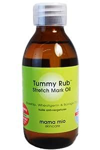 Mama Mio Tummy Rub Stretch Mark Oil - 4.1 fl oz.