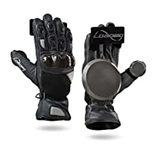 Loaded Longboards Goatskin Race Slide Gloves