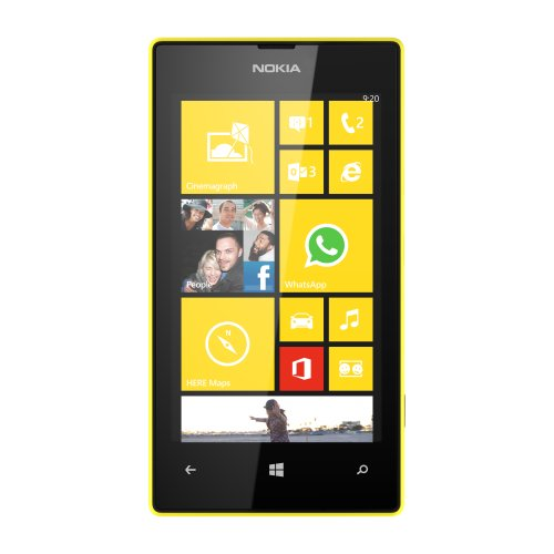 Nokia Lumia 520 8Gb Unlocked Gsm Windows 8 Os Cell Phone - Yellow