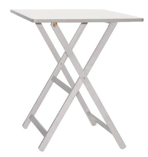 Tavolo Maison cm.60x80 100% FSC bianco