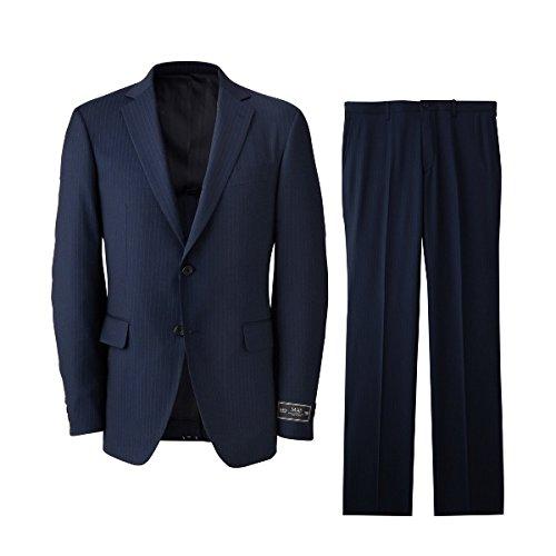 タケオキクチ(TAKEO KIKUCHI) スーツ(ピンストMAFスーツ)【394ブルー系/L】
